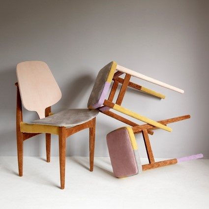 Dressed Chairs by Soojin Kang