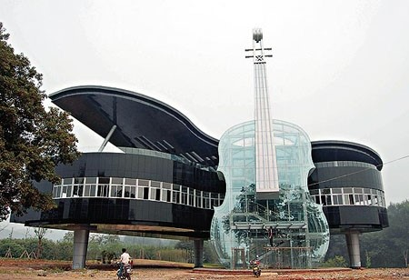 Piano House in Huainan