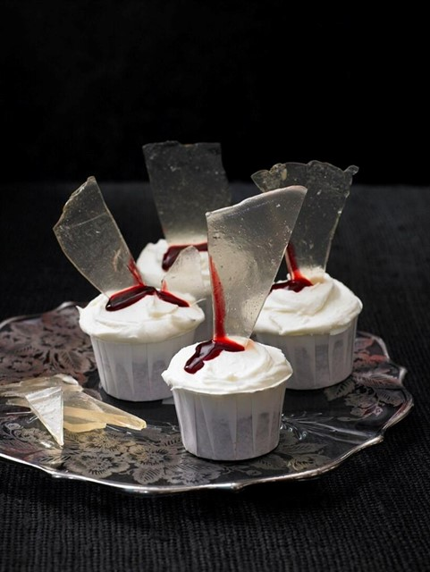 Halloween Cupcakes by Lily Vanilli