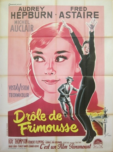 Funny Face poster, France, 1957