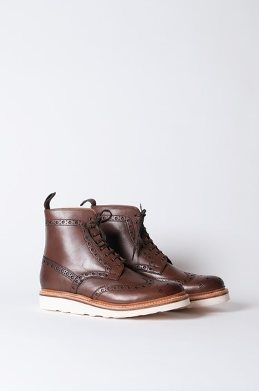 Fred Derby Boot Brown by Grenson
