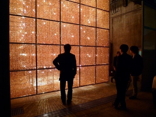 Cube Light by Ai Weiwei at the Misa Shin Gallery