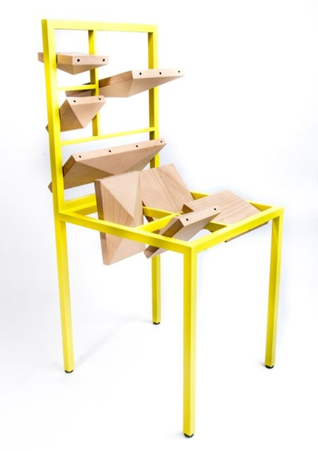 Taxing Art chair by Beta Tank