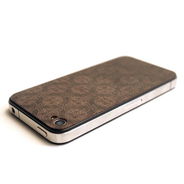 iPhone4 wood cover by Lazerwood