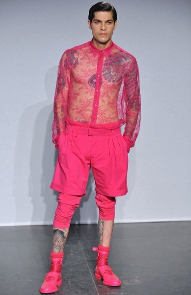 Pink Givenchy by Riccardo Tisci