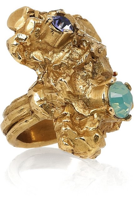 YSL Too Arty ring