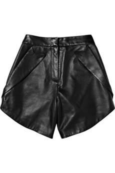 Alexander Wang / Leather shorts