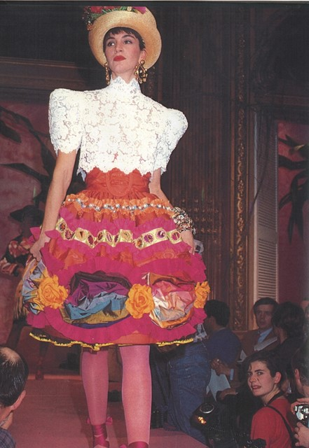 Christian Lacroix for Jean Patou