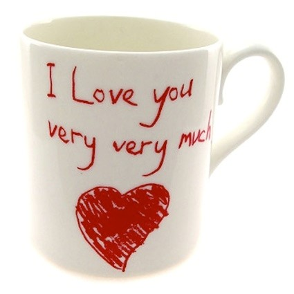 I LOVE YOU VERY VERY MUCH MUG