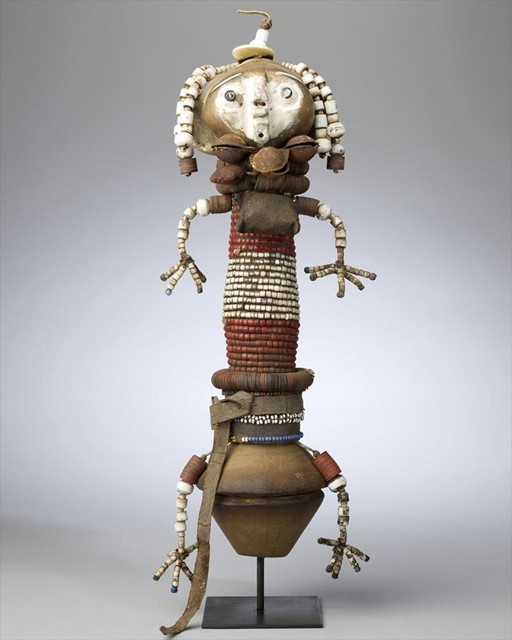 Red Bead Protection Puppet