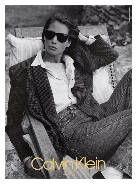 Christy Turlington for Calvin Klein, 1988