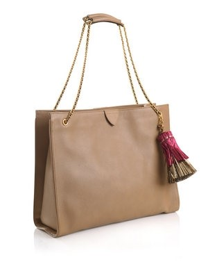 Marc Jacobs Metallic tassel tote bag
