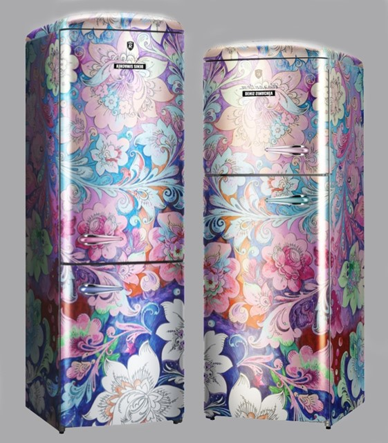 Rosenlew by Denis Simachev fridges,  limited edition