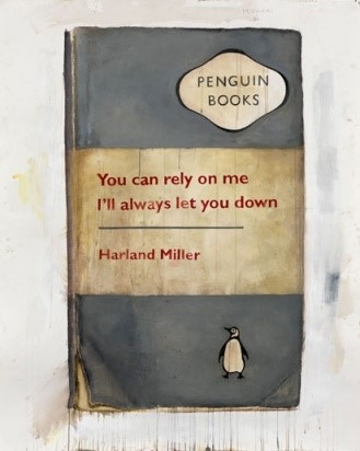 Harland Miller print, produced by Other Criteria