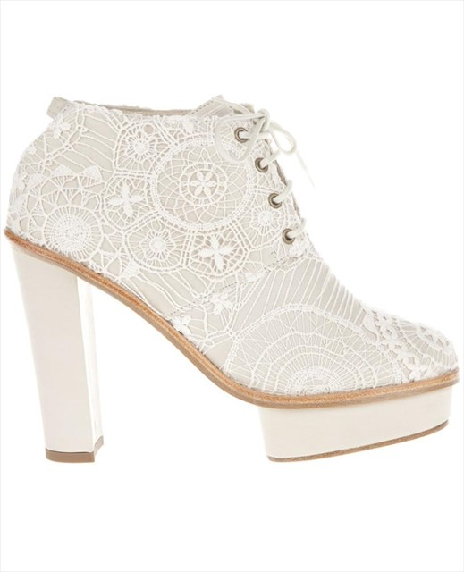 Opening Ceremony Embroidered Shoe Boot