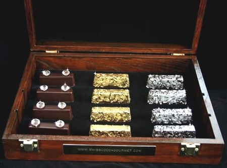 Cocoa Gurmet: Gold and Silver Plated Chocolate