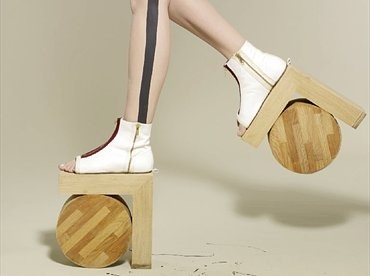 Benoît Méléard's S/S11 Architectural Shoes